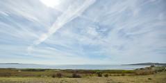 San Francisco Bay Sky (Bay Area Biking Nikon) Tags: afsnikkor1735mmf28ifed baybridge cirrostratus cirrus contrails haze nikond810 richmond sanfrancisco sanfranciscobay sanfranciscobaytrail