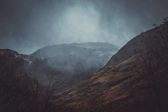 Moody (Marty085) Tags: autumn landscapes travel colors moody rain moodyweather outdoor clouds darksky scotland skye mountain mountainside