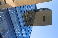 sidekicks (ohank1951) Tags: lines reflections glass geometry geometrie facade abstract kranhaus architecture btr bothe richter teherani rheinauhafen keulen köln cologne canoneos1100d efs1022mmf3545usm