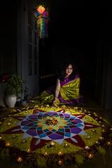 Happy Diwali!! (Meander Khedekar) Tags: diwali festival lights india rangoli