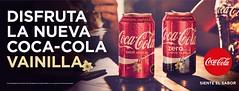 Coca-Cola vainilla (hernnpatriciovegaberardi (1)) Tags: cocacola zero vainilla chile 2016 edicin limitada