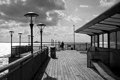 Pier bnw (jamiethompson01) Tags: bnw blackandwhite pier front sea 18 55mm a7 sony zeiss carl