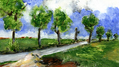 route 13 (Frdric Glorieux) Tags: frdricglorieux france route road a4 acryl peinture painting