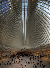 The Oculus in NYC wide (neilalderney123) Tags: 2016neilhoward nyc samyang wide fisheye fishie architecture usa olympus