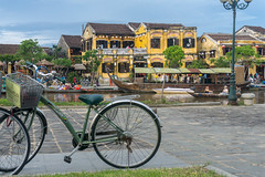 Hoi An, Vietnam (DitchTheMap) Tags: 2016 architecture bike building hoian landscape seasia vacation vietnam ancient asia beautiful boat channel colorful culture cycle flickr heritage history hoi house lifestyle old outdoor peaceful people quiet reflection river roof tourism tourist town townscape traditional transportation travel unesco vietnamese wall water wide world yellow