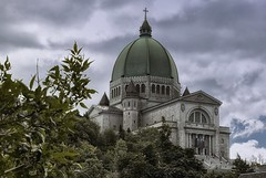 Saint Joseph's Oratory of Mount Royal (Gary Burke.) Tags: church cathedral basilica architecture italianrenaissance saintjosephsoratory saintjoseph oratory dome religion worship religious tradition pray canon eos 70d canoneos70d citylife cityliving travel city urban wanderlust fb dslr faith spiritual traditional catholic romancatholic montreal quebec canada tourism vacation klingon65 traveling garyburke canadian north touristattraction ca details christian building hill mountain mount royal mountroyal clouds