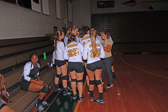 IMG_3484 (SJH Foto) Tags: girls volleyball high school lancaster mennonite elco eastern lebanon team tween teen east teenager varsity tamron 1024mm f3545 superwide lens pregame huddle
