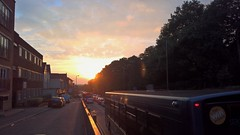 Camberley 14 October 2016 012 (paul_appleyard) Tags: camberley october 2016 sunset dusk evening smartphone mobile lumia 950 london road a30