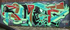graffiti amsterdam (wojofoto) Tags: amsterdam graffiti streetart nederland netherland holland wojofoto wolfgangjosten ndsm rumoe