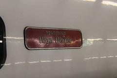 390119's nameplate (cosmostrainadventures) Tags: class390 pendolino london euston eus virginwarrior londoneuston 390119 wcml westcoastmainline nameplate virgintrains vtwc