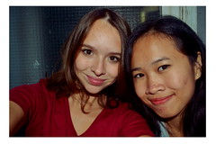 Chhay and me (Chlo Pichouron) Tags: france femmes femme jeune jeunesse young students tudiantes tudiante student friends friendly amiti ami amie amies amis filles