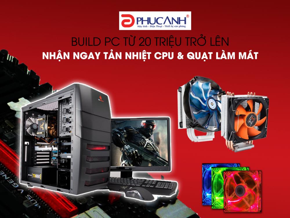Khuyến mại PC cao cấp – Nhận quà siêu đẳng