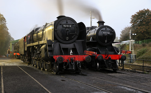 British Railways 9F - 92212 + LMS Ivatt Class 4 - 43106