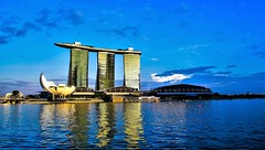 The Gold Rush (Arvin Tucker Photography) Tags: photography tucker arvin photographer travel singapore marinabaysands yahoo