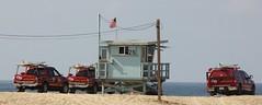 26 (phil da greek) Tags: beach lifeguards baywatch tower lacountyfire losangeles losangelescounty lacounty fire california usa toyota