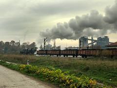 Lukavac Life - 1 (Kingmoor Klickr) Tags: lukavac tuzla bosniaherzegovina baureihe52 kreigslok kreka mines sikulje 33064 industrial railway
