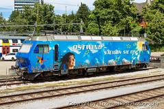456 143-7 : Ostwind Tarifverbund (Thomas Naas Photography) Tags: ostwind tarifverbund sob südostbahn winterthur schweiz switzerland eisenbahn railways zug züge lokomotive outdoor fahrzeug re456 train