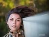 Sideways (Vincent F Tsai) Tags: flipped girl model hair dangle pose eyes expression dock lake water bokeh park beauty beautiful unconventional panasonic lumixg7 leicadgnocticron425mmf12 portrait artistic