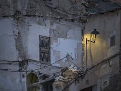 3256-2016-BR (elfer) Tags: pueblo ventanas ruinas abandono farolas aun guadalajara espaa
