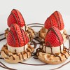 whole-wheat-waffles (idietitianin) Tags: healthy yummy delicious fruits strawberries breakfast