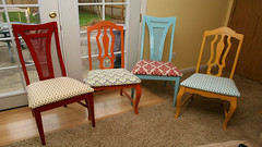 How To Reupholster Kitchen Chairs (asithmohan29) Tags: httpbitly2gbocdv httpdailyx52vk7f howtoreupholsterkitchenchairs chairs creative decoratingandpainting diningroomchairs diy doityourself easy fabric furnishings home homedecor howto howtomake howtor howtorecoverachaircushion kitchenchairs making reupholster reupholsterkitchenchairs reupholstering tutorial upholster upholstering upholstery