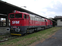 STRADE FERRATE DEL MEDITERRANEO (Giovanni Grasso 71) Tags: 752 strade ferrate del mediterraneo giovanni grasso locomotiva diesel alessandria smistamento