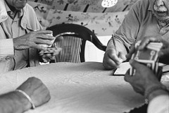 Card Game (Federico Pitto) Tags: bw nikonfe2 trix d76 genova nikkor50mm14
