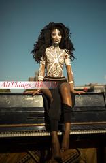 Body Paint (Allthingsbklyn) Tags: allthingsbklyncom allthingsbklyn naturl light portrait portraiture brooklyn afropunk afropunk2016 afropunkbk2016 sony a7r prime festival laulo ori sacredart sacredori