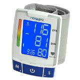 MeasuPro Easy Read Automatic Digital Wrist Blood Pressure Monitor with Heart Rate Detection, Two User Modes, Memory Recall and Large Backlit LCD Display (finiarisab) Tags: automatic backlit blood detection digital display easy heart large measupro memory modes monitor pressure rate read recall user wrist