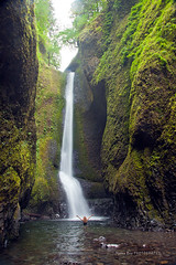 *** Oneonta Gorge *** (Marina Bass (back in NY)) Tags: marinabass marinabassphotography or oneontagorge oregon pnw usa upperwestusa active bathing gorge green hiking outdors pacific river summer vegetation water waterfall west young