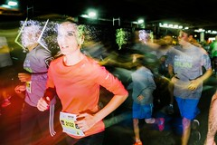 Just one look (amira_a) Tags: run race nightrun running nightruntelaviv2016 streetphotography strret streetrun fujifilm x100s people tlv telaviv eye justonelook thesounddefects