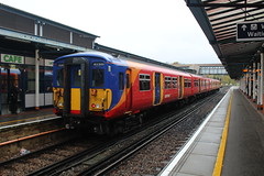 5712 (matty10120) Tags: photo taken at railway train class wales arriva guildford 455 south west trains