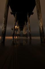 No Super Moon (Art Sarnese Photography) Tags: beach oceancity ocnj nikon newjersey nj southjersey d3300 nikond3300 tokina wideangle night rain cloudy cloud symmetry