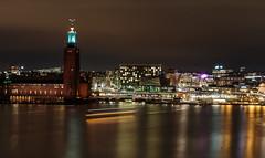 Stockholm city hall (mik.jason) Tags: stockholm longexposure nightphoto nightshot nattfoto stadshuset cityhall