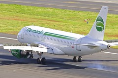 FNC/LPMA: Germania(Switzerland) Airbus A319-112  HB-JOH (Roland C.) Tags: fnc lpma airport portugal airbus a320 a319 a321 hbjoh germania germaniaschweiz