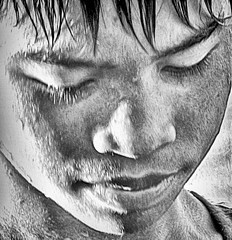 Down and away (FotoGrazio) Tags: freetodownload asian portrait composition kid photographersinsandiego fotograzio lookingaway nose digitalphotography photoeffect capture phototopainting male contrast grayscale lookingdown photography photographicart photographersincalifornia photomanipulation freeimage artofphotography adolescent people highcontrast face phototoart freepicture photoshoot fineart man filipino pinoy philippines explore texture shy art painterly sandiegophotographer waynesgrazio portraiture worldphotographer downloadforfree eyes 500px californiaphotographer flickr internationalphotographers blackandwhite waynegrazio lips