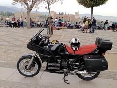 La Alhambra desde el Mirador de San Nicols (Granada) (NACHOakaBS1) Tags: moto granda bmw nachoakabs1 bs1producciones