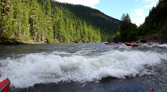 On the River (Stefan Jrgensen) Tags: rafting river clearwater clearwaterriver rapids wellsgrayprovincialpark britishcolumbia canada water trees sony dsctx20 tx20 2013