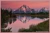 Purple Mt Majesty (Thomas DeHoff) Tags: mt moran sunrise purple mountains wyoming grand tetons water alpine glow minolta 7d