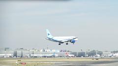 Interjet (alexmak6) Tags: aircraft avion flare aterrizando landing