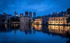 Den Haag (Mika Laitinen) Tags: canon7dmarkii denhaag europe leefilters netherlands architecture blue calm city cityscape cloud color dusk longexposure nightfall oldbuilding outdoor sky twilight water wideangle zuidholland nl