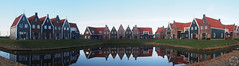 Dutch Architecture (PaaulDvD) Tags: netherlands holland pays bas marken volendam waterland water sun sky colors typical fog light outside