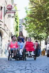 Exploring Antwerp (VISITFLANDERS) Tags: europe belgium wheelchair antwerp flanders accessibility artcity visitflanders