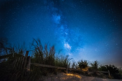 Milky Way over the dunes 0935 (P.E.T. shots) Tags:
