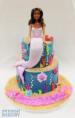 Mermaid Barbie (Swedish Bakery Chicago) Tags: ocean fish cakes cake coral mermaid swedishbakery