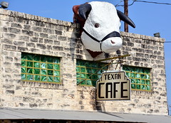 Texan Cafe (The Old Texan) Tags: cafe explore steakhouse