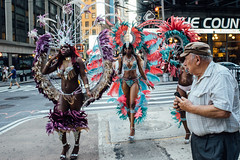 DSC07886 (samer RIZK) Tags: show life road street nyc newyorkcity girls summer people newyork motion tourism nikon colorful dancers outdoor live 28mm streetphotography entertainment timesquare nikkor f28 a7 ais sonya7