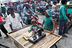 delhi market (ilSolar) Tags: trip baby india colour canon reflex kid child market mercato viaggio chandnichowk bambino chandni chowk incredibleindia colourofindia