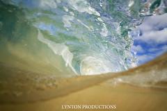 over.under sandy barrel (Aaron Lynton) Tags: ocean blue beach water canon hawaii barrel wave maui 7d spl makena bigs lynton bigbeach bigz lyntonproductions