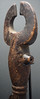 P9022539 f detail 1 Fine old flute, Bamileke people, Cameroon Grasslands (ann porteus, Sidewalk Tribal Gallery) Tags: africa sculpture music flute instrument woodwind cameroon bufallo utilitarian bamileke annporteus sidewalktribalgallery